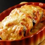 ミートローフと野菜のチーズ焼き